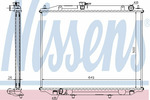 Chłodnica wody NISSENS 68706A