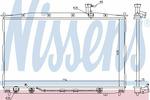 Chłodnica wody NISSENS 67505