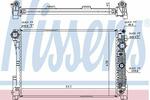 Chłodnica wody NISSENS 67162