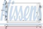 Chłodnica wody NISSENS 65293 NISSENS 65293