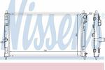 Chłodnica wody NISSENS 61019