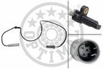 Czujnik prędkości obrotowej koła (ABS lub ESP) OPTIMAL  06-S074 (Tylna Oś, po obydwu stronach)-Foto 4