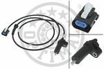Czujnik prędkości obrotowej koła (ABS lub ESP) OPTIMAL  06-S176 (Oś tylna strona lewa)-Foto 2