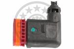 Czujnik prędkości obrotowej koła (ABS lub ESP) OPTIMAL  06-S258 (Oś tylna strona prawa)