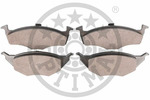 Klocki hamulcowe - komplet OPTIMAL  12085 (Oś przednia)-Foto 2