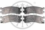 Klocki hamulcowe - komplet OPTIMAL  12110 (Oś tylna)