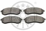 Klocki hamulcowe - komplet OPTIMAL  12117 (Oś przednia)-Foto 2