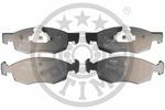 Klocki hamulcowe - komplet OPTIMAL  12118 (Oś przednia)-Foto 3