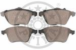 Klocki hamulcowe - komplet OPTIMAL  12128 (Oś przednia)-Foto 2