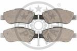 Klocki hamulcowe - komplet OPTIMAL  12226 (Oś przednia)-Foto 2