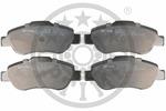 Klocki hamulcowe - komplet OPTIMAL  12226 (Oś przednia)