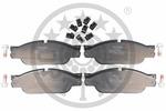 Klocki hamulcowe - komplet OPTIMAL  12239 (Oś przednia)