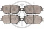 Klocki hamulcowe - komplet OPTIMAL  12253 (Oś przednia)-Foto 2