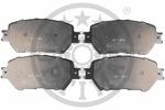 Klocki hamulcowe - komplet OPTIMAL  12253 (Oś przednia)