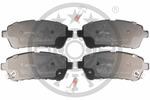 Klocki hamulcowe - komplet OPTIMAL  12447 (Oś przednia)-Foto 3