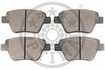 Klocki hamulcowe - komplet OPTIMAL  12449 (Oś tylna)