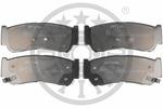 Klocki hamulcowe - komplet OPTIMAL  12451 (Oś tylna)-Foto 2