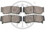 Klocki hamulcowe - komplet OPTIMAL  12451 (Oś tylna)
