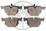 Klocki hamulcowe - komplet OPTIMAL  12460 (Oś tylna)
