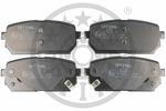 Klocki hamulcowe - komplet OPTIMAL  12482 (Oś tylna)-Foto 3
