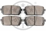 Klocki hamulcowe - komplet OPTIMAL  12482 (Oś tylna)-Foto 2