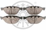 Klocki hamulcowe - komplet OPTIMAL  12500 (Oś przednia)-Foto 2