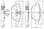 Klocki hamulcowe - komplet OPTIMAL  12515 (Oś tylna)