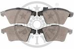 Klocki hamulcowe - komplet OPTIMAL  12533 (Oś przednia)-Foto 2