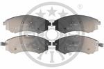 Klocki hamulcowe - komplet OPTIMAL  12572 (Oś przednia)-Foto 3