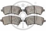 Klocki hamulcowe - komplet OPTIMAL  82212 (Oś przednia)-Foto 2