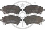 Klocki hamulcowe - komplet OPTIMAL  82212 (Oś przednia)
