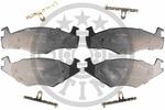 Klocki hamulcowe - komplet OPTIMAL 9362 OPTIMAL 9362