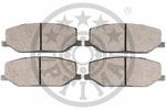 Klocki hamulcowe - komplet OPTIMAL  9394 (Oś przednia)-Foto 2