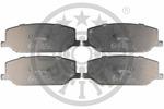Klocki hamulcowe - komplet OPTIMAL  9394 (Oś przednia)