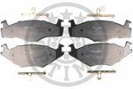 Klocki hamulcowe - komplet OPTIMAL 9968 OPTIMAL 9968