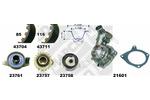 Zestaw paska rozrządu + pompa wody MAPCO  41712/2
