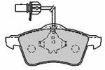 Klocki hamulcowe - komplet MAPCO 6551