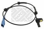 Czujnik prędkości obrotowej koła (ABS lub ESP) MAPCO  86321 (Oś tylna strona lewa) (Oś tylna strona prawa)