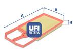 Filtr powietrza UFI  30.124.00
