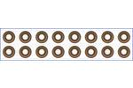 Zestaw uszczelniaczy trzonka zaworu AJUSA 57016600