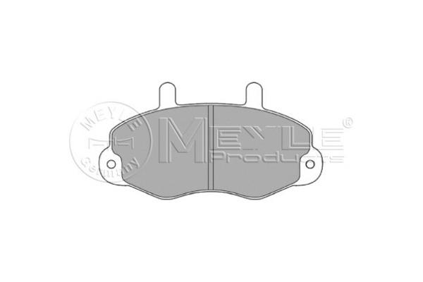 Klocki hamulcowe - komplet MEYLE (0252146918)