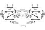 Zawieszenie koła MEYLE  WG1190010 (Oś tylna)