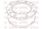 Tarcza hamulcowa REMSA Heavy Duty Brake Disc NCA1204.10 (Oś tylna)