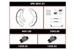 Zestaw do hamulców, hamulce bębnowe REMSA Super Precision Kit SPK 3041.01