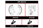 Zestaw do hamulców, hamulce bębnowe REMSA Super Precision Kit SPK 3045.03