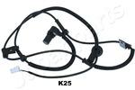 Czujnik prędkości obrotowej koła (ABS lub ESP) JAPANPARTS  ABS-K25 (Oś tylna strona lewa)
