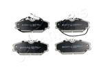 Klocki hamulcowe - komplet JAPANPARTS  PA-W08AF (Oś przednia)