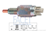 Przełącznik świateł cofania FACET 7.6243 FACET 7.6243