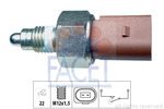 Przełącznik świateł cofania FACET 7.6266