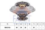 Termostat układu chłodzenia FACET 7.8250S FACET 7.8250S